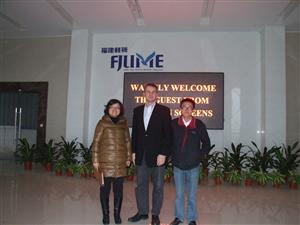 The Swedish Guest visit our company