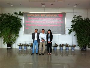 Singapore agent visit our company