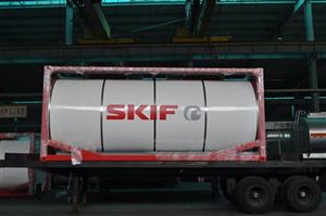 Tank Container (22000L) for Russian market