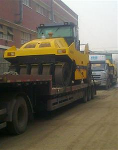 Super-tonnage tire roller of Sinomach Heavy Industry Luoyang Base sold to Algeria for second time