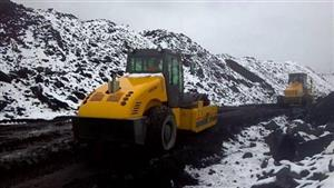Product series of Sinomach Heavy Industry Luoyang Base move in snowy plateau