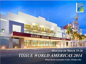 Welcome and Meet Us on TISSUE WORLD AMERICAS 2014