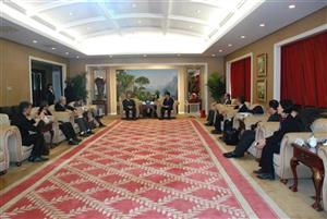 Sinomach Vice President Sun Derun meets Iranian delegation in presence of Sinomach-HI Chairman Wu Peiguo