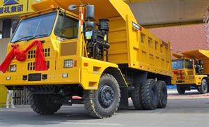 Sinomach-HI Luoyang exports GKM55R off-road dump trucks to S.E. Asia in volume