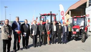 YTO GROUP CORPORATION donated tractor to disaster area of Serbia