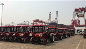 YTO GROUP CORPORATION export 206 tractors to Cuba