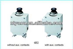 High Performance Thermal Circuit Breaker 482-... for aircraft