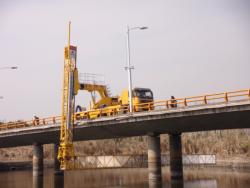 Operating truck for Bridge Detection