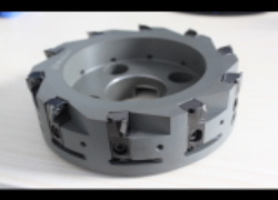 PCD Indexable Face Milling Cutter